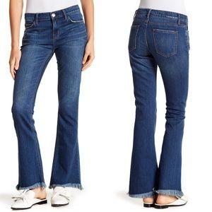 Current Elliott   Flip Flip Flare Jeans